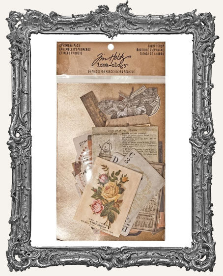Tim Holtz - Idea-ology Collection - Ephemera Pack - Thrift Shop
