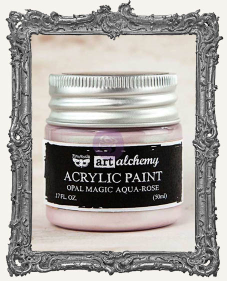 Finnabair - Art Alchemy - Acrylic Paint - Opal Magic - Aqua-Rose