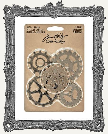 Tim Holtz Idea-ology Metal Gadget Gears