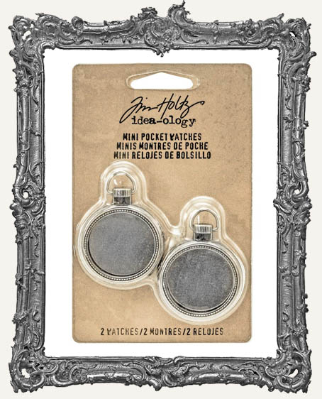 Tim Holtz - Idea-ology - Mini Pocket Watch Frames