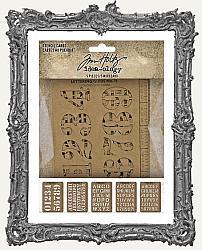 Tim Holtz - Idea-ology - Stencil Cards