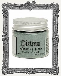 Tim Holtz Ranger Distress Embossing Glaze - Weathered Wood