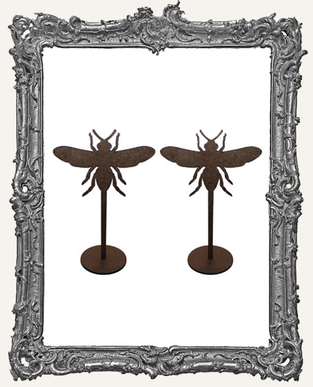 Bee Sticks Stand Ups Set of Two
