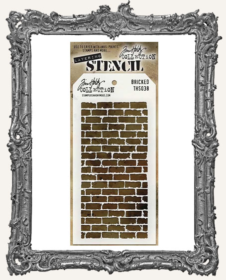 Tim Holtz Layering Stencils - BRICKED