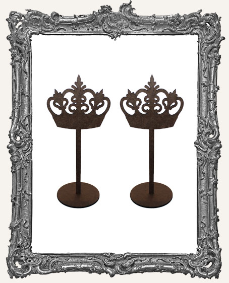 Crown Sticks Stand Ups - Style 1 - Set of Two