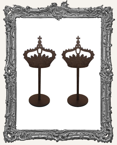 Crown Sticks Stand Ups - Style 2 - Set of Two