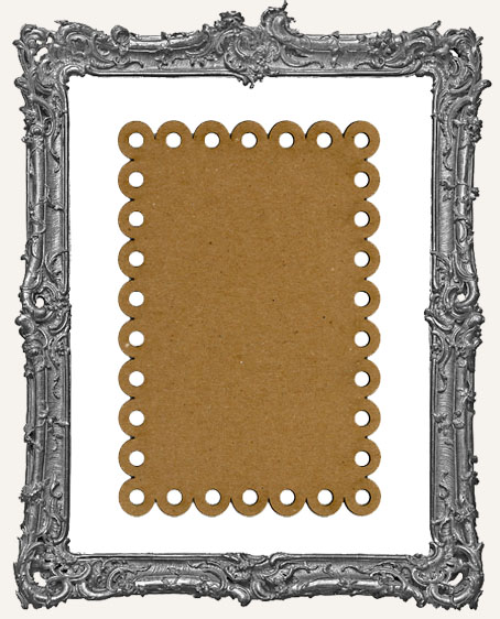 Chipboard Postcards - Style 8 - Set of 4