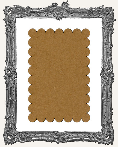 Chipboard Postcards - Style 3 - Set of 4
