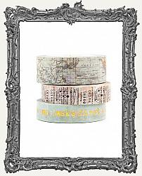 Finnabair Washi Tape - Art Daily Planner Decorative Tape - Wanderlust
