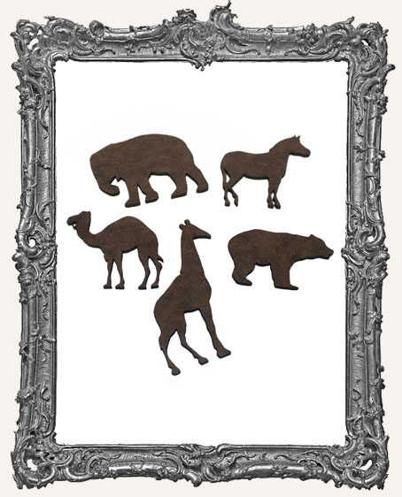 Circus Animal Cut-Outs - 5 Pieces