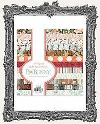 6X6 Bo Bunny Bella Rosa Collection Single-Sided Paper Pad 36 Pages