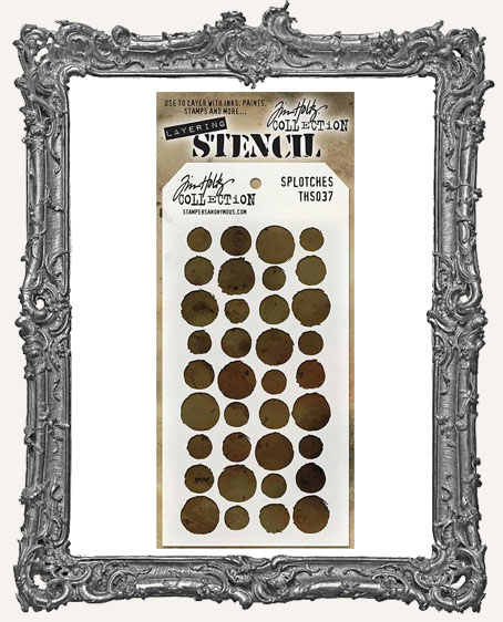 Tim Holtz Layering Stencils - SPLOTCHES