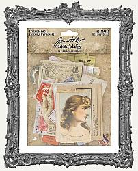 Tim Holtz - Idea-ology - Ephemera Pack Keepsakes