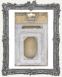 Tim Holtz - Idea-ology - Baseboards - Lace Frames