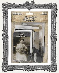 Tim Holtz - Idea-ology - Found Relatives Vintage Portraits 45 per Pkg