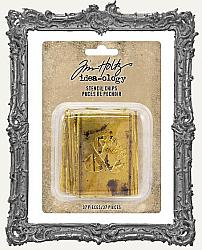Tim Holtz - Idea-ology - Stencil Chips Gold