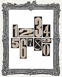Tim Holtz - Idea-ology - Number Blocks