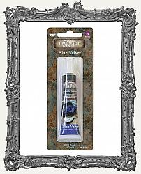 Finnabair - Art Alchemy - Opal Magic Wax - Blue Velvet - Tube Packaging