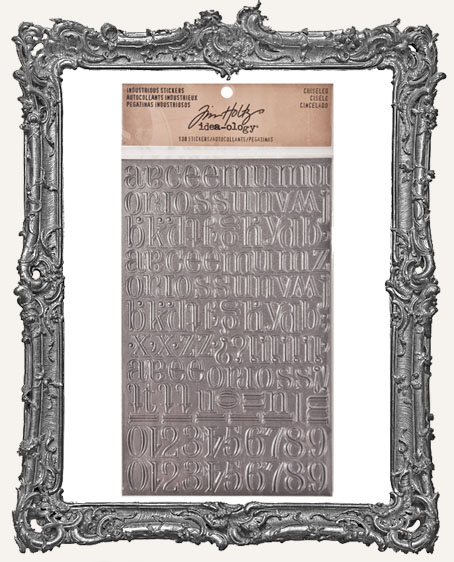 Tim Holtz Industrious Stickers - Chiseled