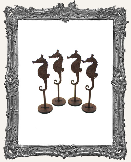 MINI Seahorse Sticks Stand Ups Set of Four