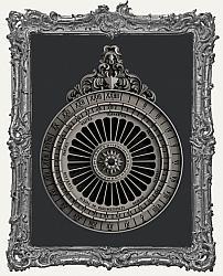 Zuri Silicone Mold - Lunar Calendar