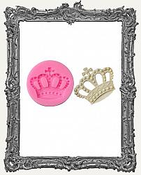 Small Pink Silicone Mold - Ornate Crown