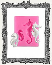 Small Pink Silicone Mold - Seahorse Set