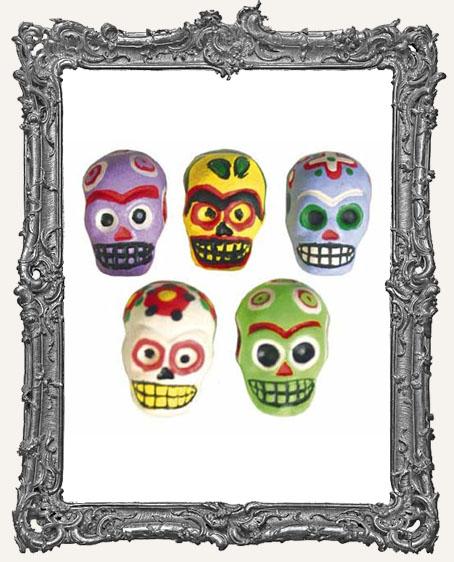 Colorful Sugar Skull Bead