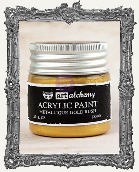 Finnabair - Art Alchemy - Metallique Acrylic Paint - Gold Rush