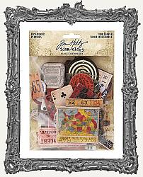 Tim Holtz - Idea-ology - Junk Drawer Chipboard Baseboards