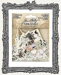 Tim Holtz - Idea-ology - Field Notes Ephemera SNIPPETS