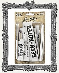 Tim Holtz - Idea-ology - Theories Quote Chips