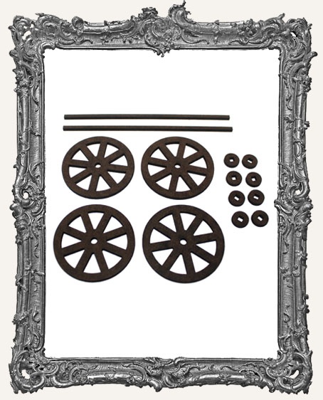 Classic Rolling Wheels Set - LARGE