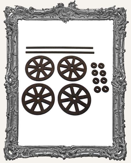 Classic Rolling Wheels Set - LARGE