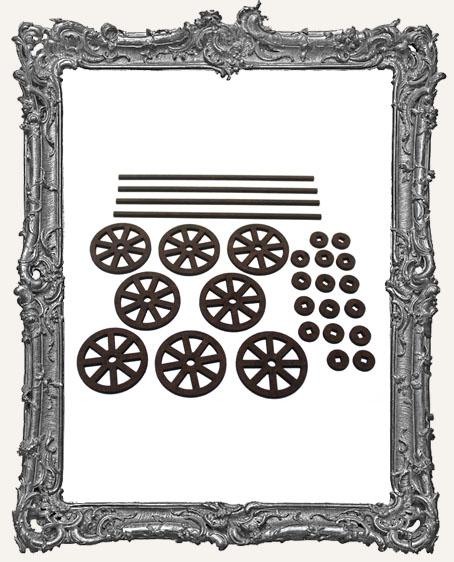 Classic Rolling Wheels Set - MEDIUM