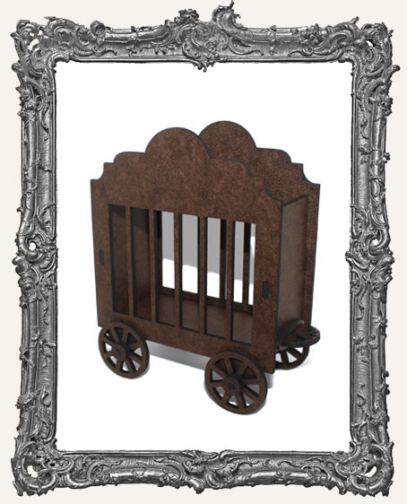 Rolling Circus Wagon ATC Holder - Style 1