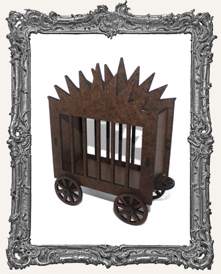 Rolling Circus Wagon ATC Holder - Style 2