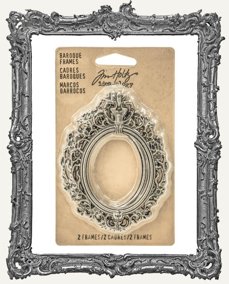 Tim Holtz Idea-ology Baroque Frames