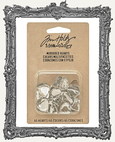 Tim Holtz Idea-ology Mirrored Hearts