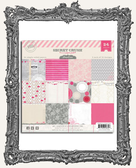 6x6 Secret Crush Paper Pad