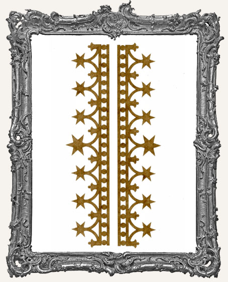 LARGE Regal Stencil Border Strips - Style 1