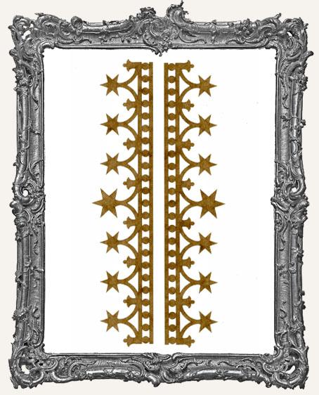 LARGE Regal Stencil Border Strips - Style 1