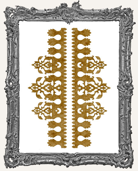 LARGE Regal Stencil Border Strips - Style 2