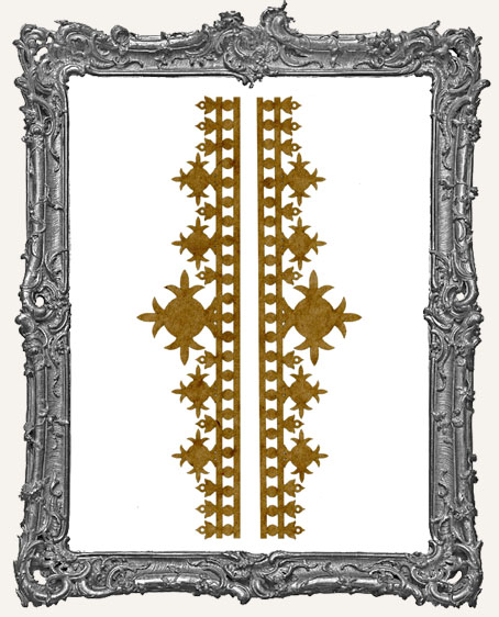 LARGE Regal Stencil Border Strips - Style 3
