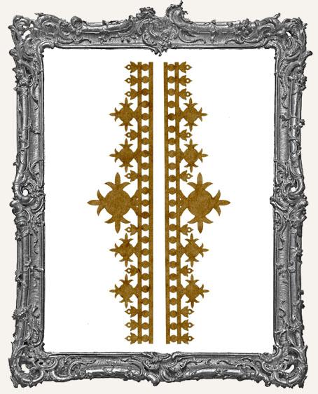LARGE Regal Stencil Border Strips - Style 3