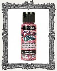 DecoArt Galaxy Glitter Acrylic Paint 2oz - Pink Cosmos