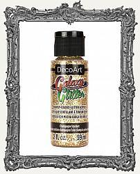 DecoArt Galaxy Glitter Acrylic Paint 2oz - Champagne Starburst