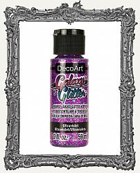 DecoArt Galaxy Glitter Acrylic Paint 2oz - Ultraviolet