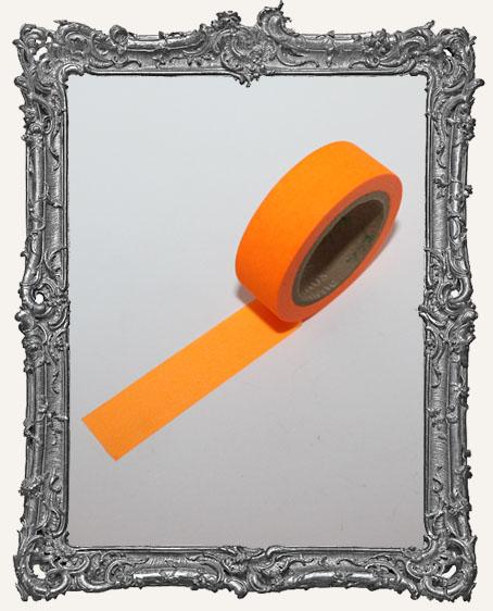 Washi Tape - Fluorescent Orange