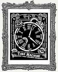 Stamperia Stencil - Voyages Fantastiques Clock